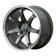 "Ultralite ATEC 2 18"" x 9J ET35 5x114.3 Gun Métal Alliage Roue Simple x 1 Y3288"