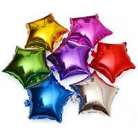 10Pcs 10'' Five-pointed Star Helium Foil Balloon Wedding Birthday Party Decor