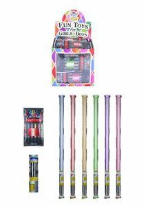 Self Inflating Light Sticks Saber - Pinata Toy Loot/Party Bag Fillers x6/8/12/24