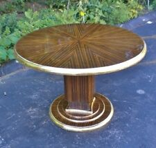 Makassar Ebony Ruhlman inspired Large Art Deco Table