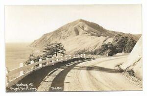 1920s Real Photo Postcard RPPC ~ HUMBUG MOUNTAIN, OREGON COAST HIGHWAY