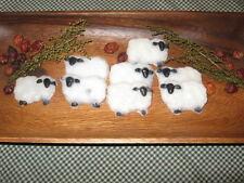 Primitive Handmade Apple Cinnamon Sheep Tarts* Apple Cinnamon* Bowl Fillers