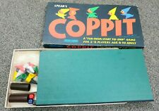 VINTAGE RETRO 1964 SPEARS COPPIT BOARD GAME COMPLETE