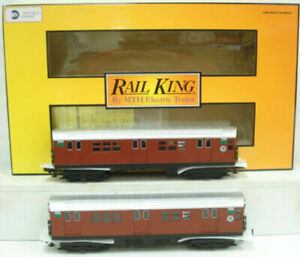 MTH 30-2198-3 O MTA R-21 Subway Add-On Non Powered Set (Set of 2) LN/Box