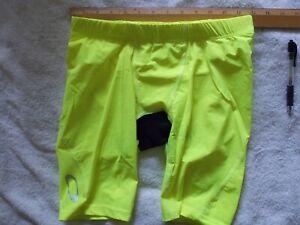 Mens    Oakly swim liner   Yellow       [#837]