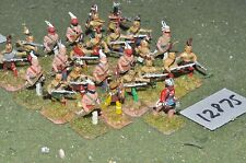 25mm french / indian wars indian warriors 24 figures (12875)