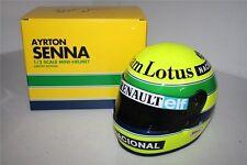 F1 CASQUE HELMET 1/2 AYRTON SENNA LOTUS 1985 RARE!