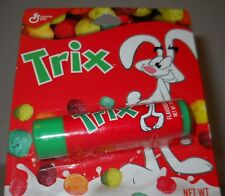 Trix Flavored Lip Balm, Like The Cereal! 0.12oz Tube, Silly Rabbit! Carded!