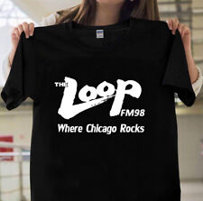 The LOOP FM 97.9 Where Chicago Rocks CLOSED CHICAGO RADIO STATION Keychain