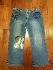 Women's Makaveli Tupac 2pac Shakur jeans. Size 18, 20. Extremely unique!!