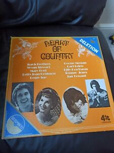 Heart Of Country 4s-sp-114 Vinyl Record Lp