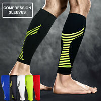 Calf Support Compression Sleeve Shin Splints Running Guards Socks Cycling Brace