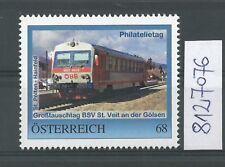 Österreich  personalisierte Marke Philatelietag St. VEIT/GÖLSEN 8127076 **