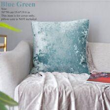 DIY Velvet Cushion Case Mottled Pillowcase Only Cover Soft Sofa Home Room Decor