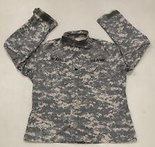 US Army ACU Digital Military Combat Uniform Shirt/Jacket Size Medium Regular