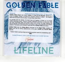 (GP104) Golden Fable, Lifeline - 2015 DJ CD