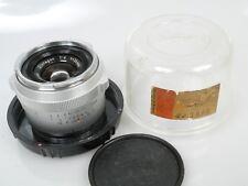 Zeiss Contarex Distagon 4/35 35mm 1:4 + Plexi case + cap **ANKAUF**