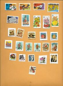 1995 USED STAMPS ON AND OFF PAPER