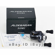 Shimano 15 Aldebaran 51HG Left Hand Saltwater Baitcasting Reel 033871