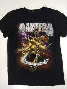 Pantera Cowboys From Hell T-shirt 2012 Size Medium skeleton bull riding