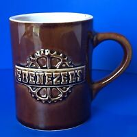 "Hall Pottery Brown Mug 1314-C ""Ebenezer's""- Excellent Condition"