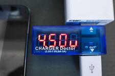 Médico Cargador Pantalla Digital USB Power Portátil Medidor de prueba de voltaje de corriente