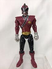 """MMPR Power Rangers SUPER SAMURAI Red Power Ranger Action Figure 4.5"""" 2012"""