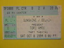 1994 Original Tori Amos Concert Ticket Stub Taft Theatre Cincinnati OH