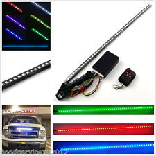 Multi-colour 48LED Car Knight Rider Strobe Light Strip & Wireless Remote Control