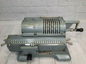 Soviet Arifmometer Felix Mechanical calculator. Adding machine Vintage USSR
