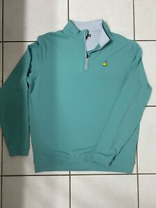 Mens Peter Millar Pullover. Masters. Augusta National. Large.