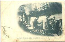 CP 75 PARIS - Manufacture des Gobelins - Atelier de tapis - Savonnerie