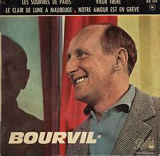 BOURVIL LES SOURIRES DE PARIS FRENCH ORIG EP JERRY MENGO