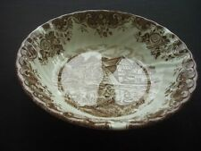 JOHNSON BROTHERS - ENGLISH COUNTRY LIFE (BROWN) - CEREAL/DESSERT BOWL