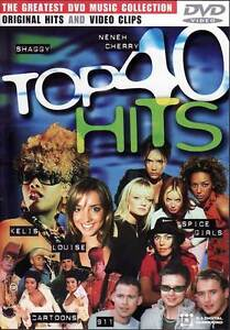 Top 40 Hits - Various Artists Music Videos - DVD NEW