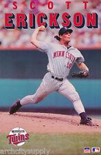 POSTER:MLB BASEBALL: SCOTT ERICKSON - MINNESOTA TWINS -  FREE SHIP  RW12 E