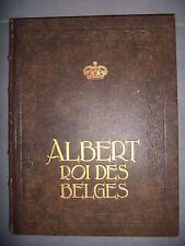 Belgique, royauté: Albert, roi des Belges, 1936, BE