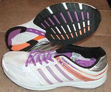 NEW ADIDAS ADIZERO MANA 6 Running Womens 9.5 NWT $110 White Purple LTD NR