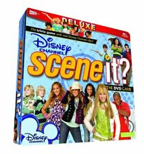 DISNEY CHANNEL Scene It Deluxe Edition DVD board game Brand New Sealed