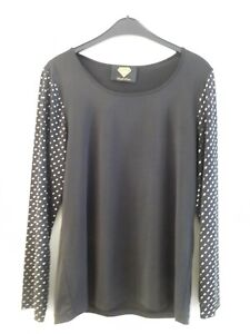 Designer Shirt mit Nieten, HSE, Sarah Kern GR 44,