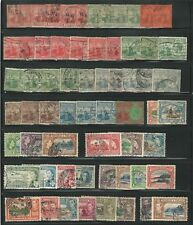 Trinidad and Tobago: Lot of 60 stamps some values repeated , used. TT14