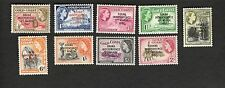 1957 Gold Coast SC #5-13 GHANA INDEPENDENCE MH stamps