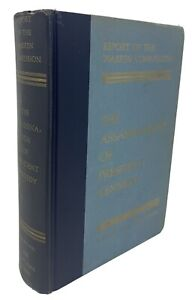 Report of Warren Commission Assassination President Kennedy 1964 New York Times