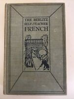 The Berlitz Self-teacher French Vintage Textbook Foreign Language