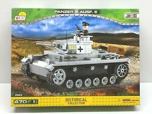 Cobi 2523 - Panzer III Ausf.E Tank (430pcs) Building Blocks - WWII
