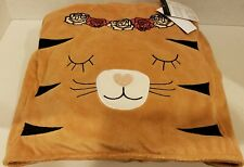 Fold-Up Packable Blanket, Tiger **BRAND NEW WITH TAGS**