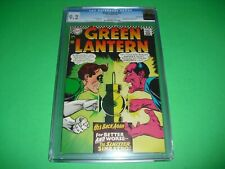 Green Lantern #52 CGC 9.2 w/ OW/W pages 1967! Sinestro app not CBCS 0966427001