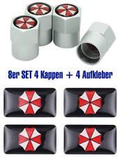 Resident Evil Umbrella Sticker Set Aufkleber Ventilkappen Kappen Alu