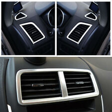 Chrome Dashboard Air Vent Cover For Mitsubishi ASX Outlander Sport RVR 2011-2018