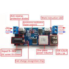 24V / 12V to 5V 5A powermodule DC-DC step-down power supply converter crit